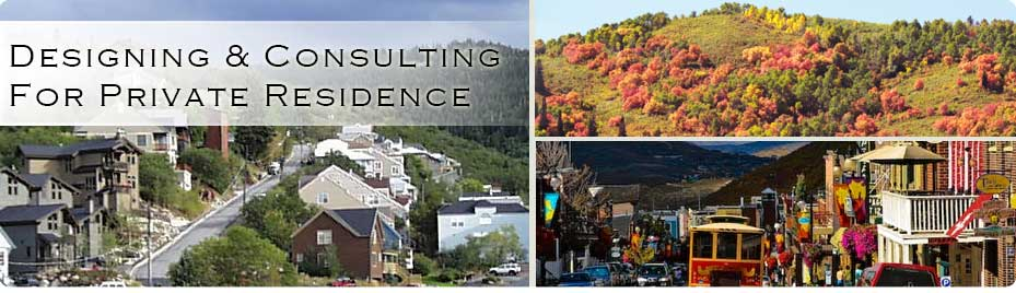Design and Consulting for Private and Outdoor Residence Park City Utah